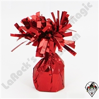 Foil Balloon Weight Red 135 gram 12ct box