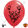 Qualatex 5 Inch Round Lucifer Devil Balloons by Juan Gonzales 100ct