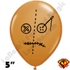 Qualatex 5 Inch Round Voodoo Head Balloons by Juan Gonzales 100ct