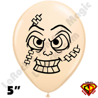 Qualatex 5 Inch Round Stitches Head Balloons by Juan Gonzales 100ct