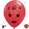 Qualatex 5 Inch Round Baby Devil Balloons by Juan Gonzales 100ct