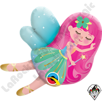 Qualatex 14 Inch Shape Mini Fairy Foil Balloon 1ct
