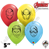 5 Inch Round Avengers Assemble  Qualatex