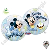 Qualatex 22 Inch Mickey Mouse 1st Birthday Bubble 1ct