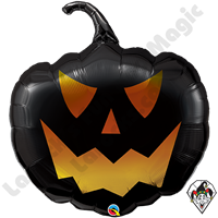 35 Inch Shape Black Jack Foil Balloon Qualatex 1ct