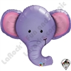 Qualatex 39 Inch Shape Ellie the Elephant Foil Balloon 1ct