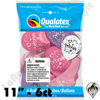 Qualatex Party Pack 11 Inch Round Princess Assortment 6ct