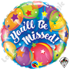 Qualatex 18 Inch Round You'll Be Missed Balloons Foil Balloon