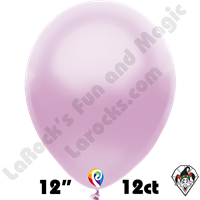 12 Inch Round Pearl Lilac Balloon Funsational 12ct