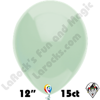 12 Inch Round Mint Green Balloon Funsational 15ct