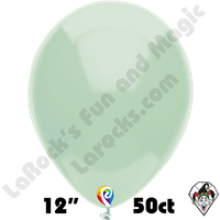 12 Inch Round Standard Mint Green Balloon Funsational 50ct
