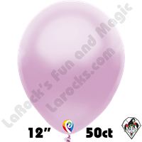 12 Inch Round Pearl Lilac Balloon Funsational 50ct