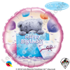 Qualatex 18 Inch Round Me To You - Tatty Teddy Birthday Present Foil Balloon 1ct