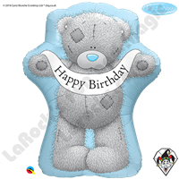 Qualatex 36 Inch Shape Me To You - Tatty Teddy Birthday Banner Foil Balloon 1ct