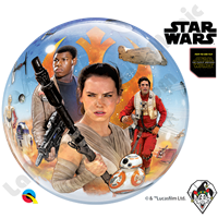 22 Inch Star Wars: The Force Awakens Bubble Qualatex 1ct