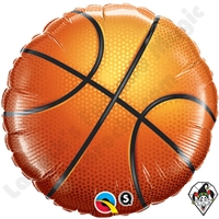 Qualatex 18 Inch Basketball Foil Balloon 1ct