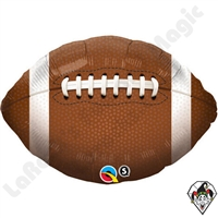 Qualatex 18 Inch Football Foil Balloon 1ct