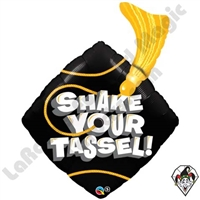 Qualatex 37 Inch Shape Shake Your Tassel Foil Balloon 1ct