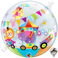 22 Inch Circus Parade Bubble Qualatex 1ct