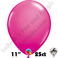 Qualatex 11 Inch Round Fashion Wild Berry Balloons 25ct