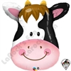 Qualatex 32 Inch Contented Cow Foil Balloon 1ct