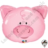 Qualatex 30 Inch Playful Pig Foil Balloon