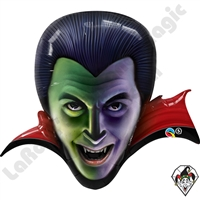 36 Inch Shape Count Dracula Foil Balloon Qualatex 1ct