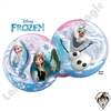 22 Inch Disney Frozen Bubble Qualatex 1ct