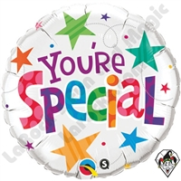 Qualatex 18 Inch Round You're Special Stars Foil Balloon 1ct