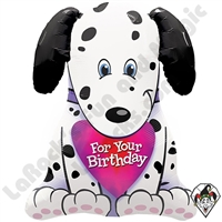 31 Inch Shape Puppy For Your Bday Foil Balloon Qualatex 1ct