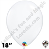Qualatex  | Round Balloons | 18 inch Round Clear