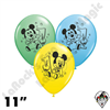 Qualatex 11 Inch Round Mickey 1st Birthday Assortment 25ct