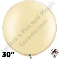 30 Inch Round Pearl Ivory Balloon Qualatex 2ct aka 3ft