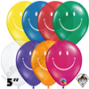 Qualatex 5 Inch Round Smile Jewel Assortment Balloons