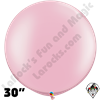 30 Inch Round Pearl Pink Balloon Qualatex 2ct aka 3ft