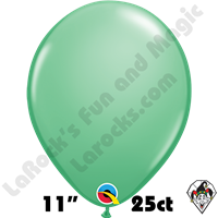 Qualatex 11 Inch Round Fashion Wintergreen Balloons 25ct