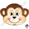 Qualatex 35 Inch Mischievous Monkey Foil Balloon