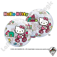 22 Inch Hello Kitty Bubble Qualatex 1ct