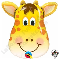 Qualatex 14 Inch Shape Jolly Giraffe Foil Balloon 1ct