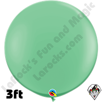 Qualatex 3 Foot Round Fashion Wintergreen Balloons 2ct