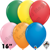 Qualatex 16 Inch Round Standard Assortment Balloons 50ct