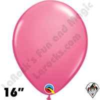Qualatex 16 Inch Round Fashion Rose Balloons 50ct