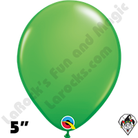Qualatex 5 Inch Round Fashion Spring Green Balloons 100ct