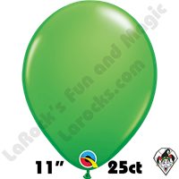 Qualatex 11 Inch Round Fashion Spring Green Balloons 25ct
