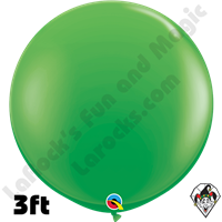 Qualatex 3 Foot Round Fashion Spring Green Balloons 2ct