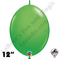Qualatex 12 inch Quick Link Fashion Spring Green Balloons 50ct