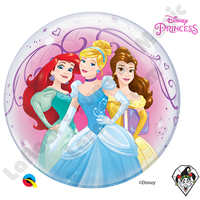 22 Inch Disney Princesses Bubble Qualatex 1ct