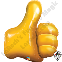 35 Inch Shape Thumbs Up! Foil Balloon Qualatex 1ct