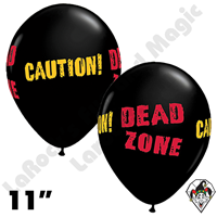 11 Inch Round Dead Zone Qualatex Balloons 50ct