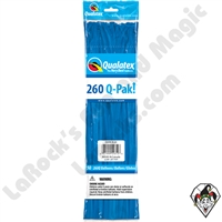 Qualatex 260Q-Pak Standard Dark Blue Balloons 50ct